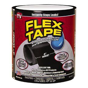 As Seen On TV Flex Tape Black 4 x 5 in Black
