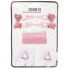 Colour Co. Unicorn Hair Accessories Set Pink