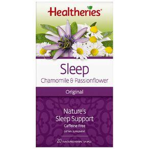Healtheries Sleep Original 20s Tea