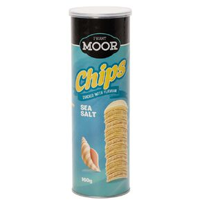 Moor Chips Sea Salt Flavour 160g