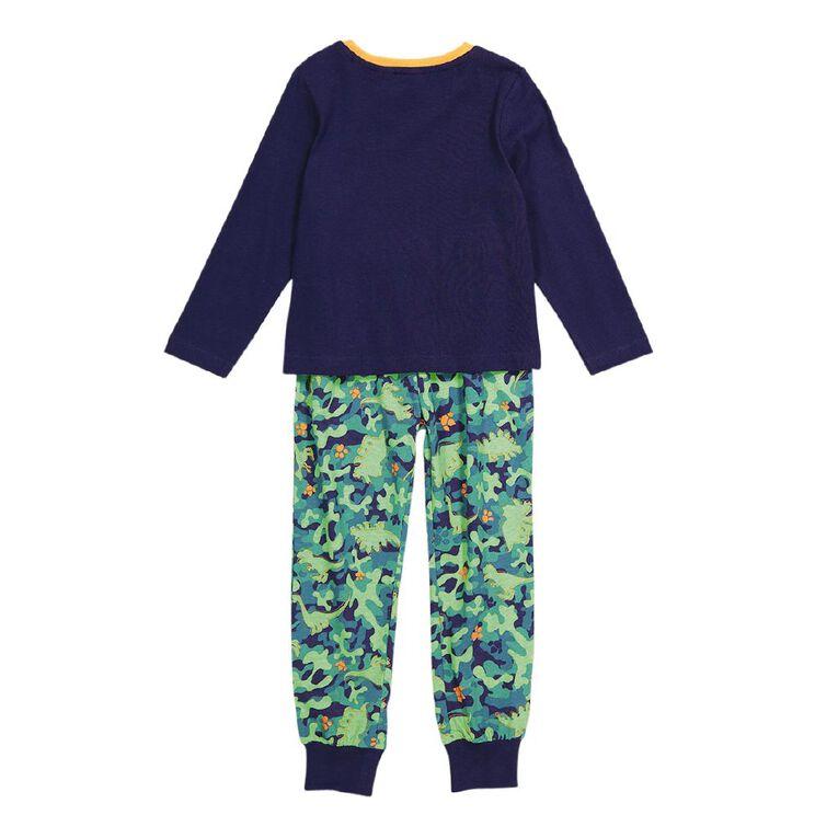 Paw Patrol Boys' Knit Pyjama, Navy, hi-res