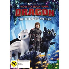 How To Train Your Dragon The Hidden World DVD 1Disc