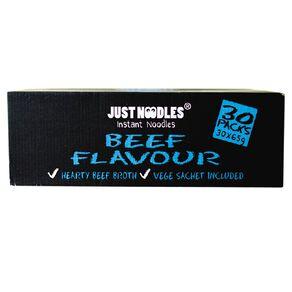Just Noodles Instant Beef Flavour Noodles 30 Pack