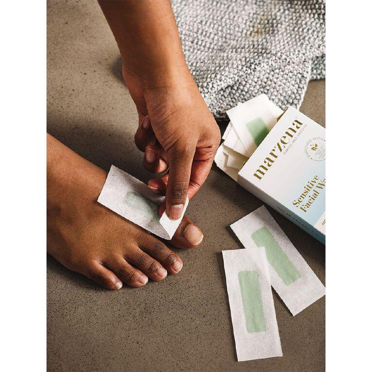 Marzena Sensitive Facial Wax Strips 24 Pack, , hi-res