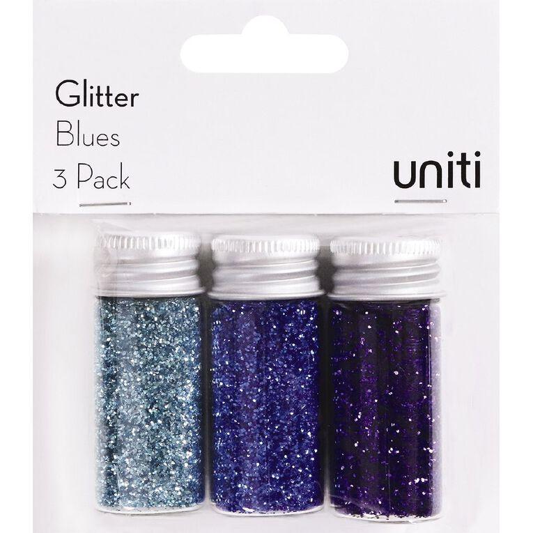 Uniti Glitter Blues 3 Pack, , hi-res