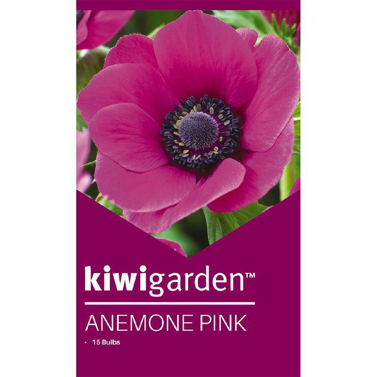 Kiwi Garden Anemone Pink 15PK, , hi-res