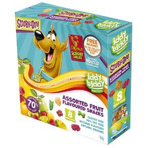 Scooby-Doo! Iddy Biddy Fruit Snacks 8 Snack Packs 160g