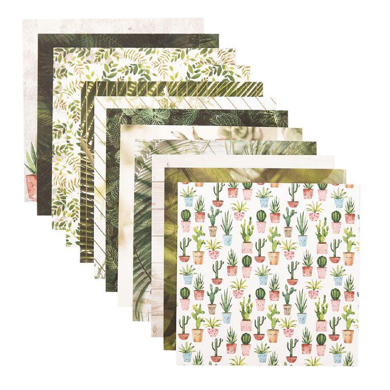 Uniti Plant Lady Paper Pad 6x6 Inch, , hi-res