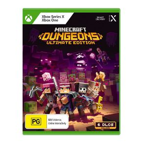 Xbox Minecraft Dungeons Ultimate Edition