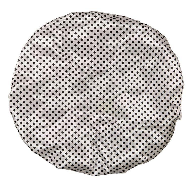 Colour Co. Shower Cap Dots Design, , hi-res