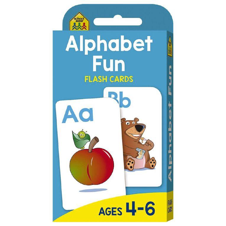 Hinkler School Zone Alphabet Fun Flash Cards, , hi-res