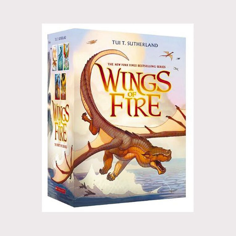 Wings of Fire: 1-5 Box Set by Tui T Sutherland, , hi-res