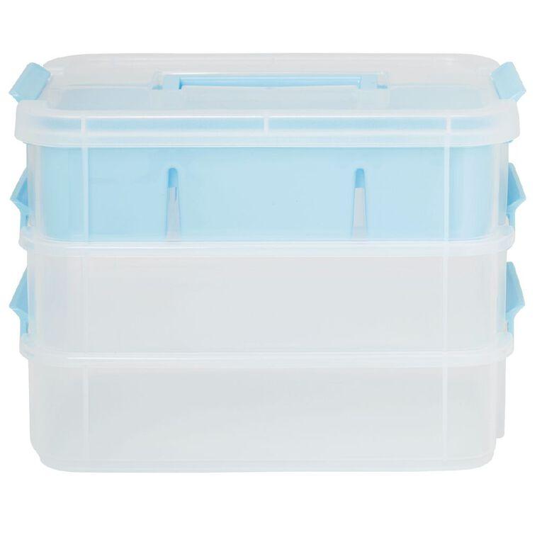 Uniti Craft 3 Layer Handle Box & Tray, , hi-res