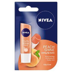 Nivea Care Peach Lip Balm 4.8g