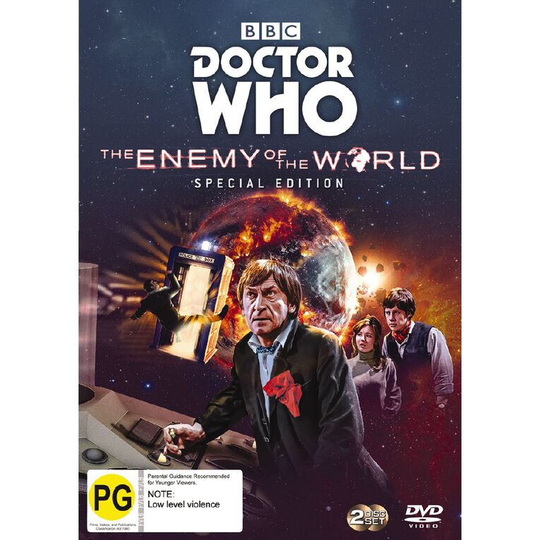 Doctor Who (1967) Enemy Of The World DVD 2Disc, , hi-res