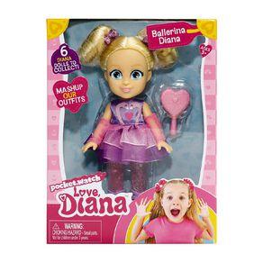 Love Diana Mini Doll 6 Inch Assorted