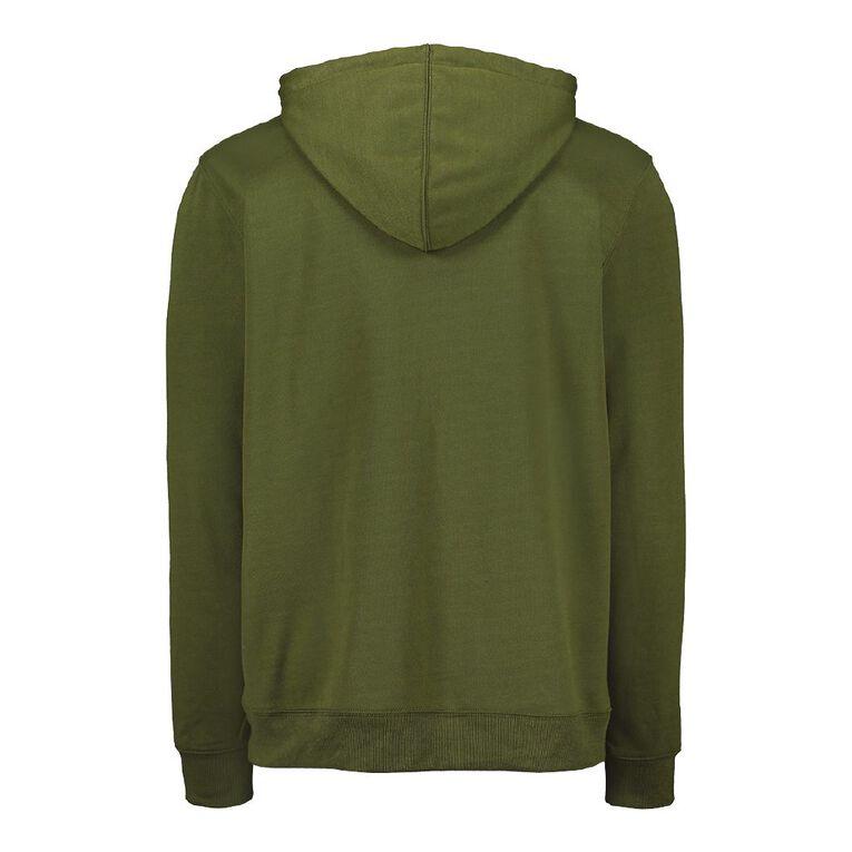 Garage Men's Hooded Fresh Sweatshirt, Green Dark, hi-res