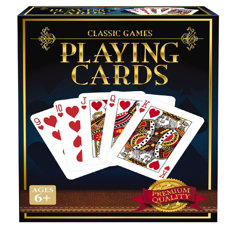 Classics Collection 1 Deck Playing Cards Game Assorted, , hi-res