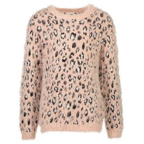 Young Original Girls' Feather Knit Jumper