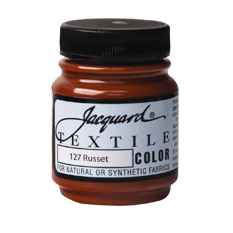 Jacquard Textile Colours 66.54ml Russet, , hi-res