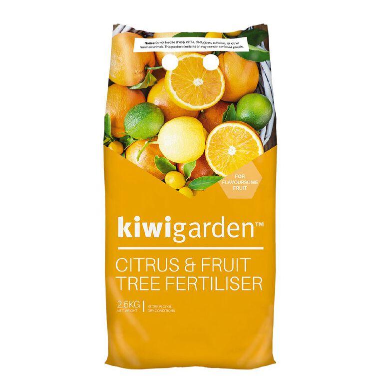 Kiwi Garden Citrus Fertiliser 2.5kg, , hi-res