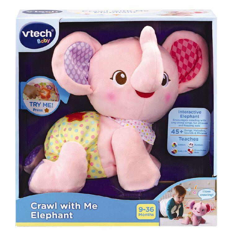 Vtech Crawl with Me Elephant Assorted, , hi-res
