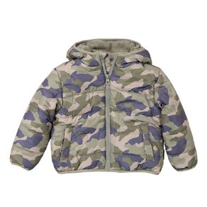 Young Original Toddler Lined Puffer Jacket