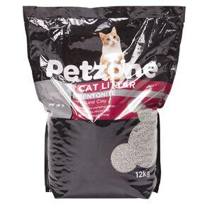 Petzone Cat Litter Bentonite Natural Clay 12kg