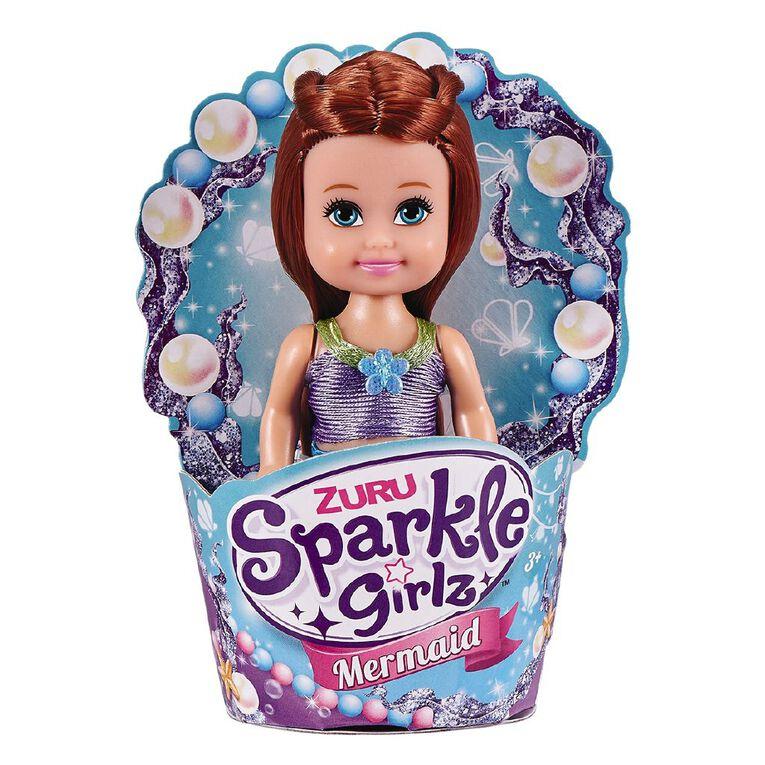 Zuru Sparkle Girlz Cupcake Mermaid Assorted, , hi-res