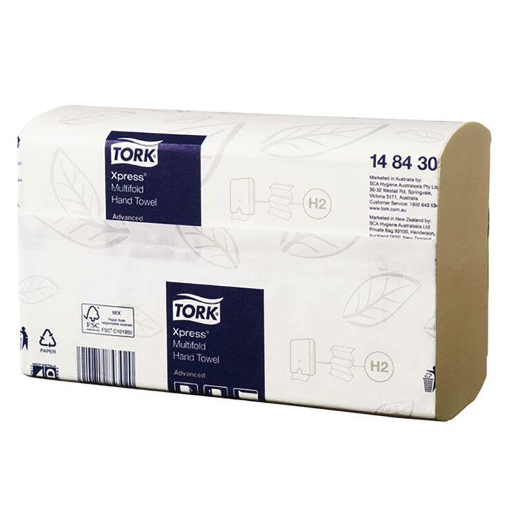 TORK Xpress Hand Towel Multifold Carrypak 185 Sheet Slimline H2, , hi-res