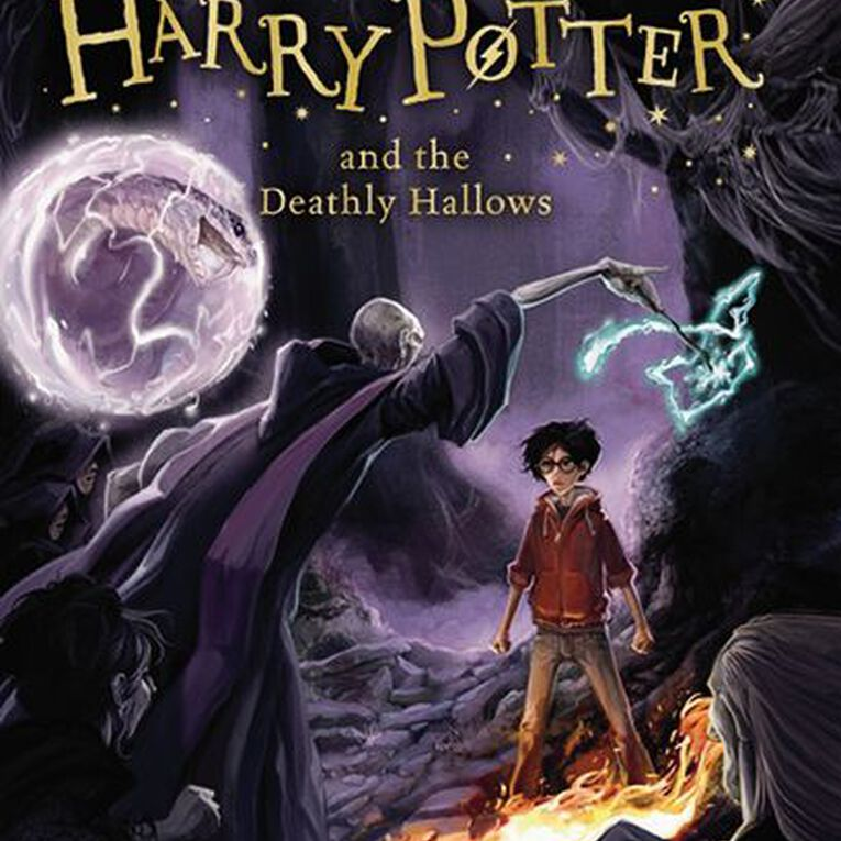 Harry Potter #7 The Deathly Hallows by JK Rowling, , hi-res