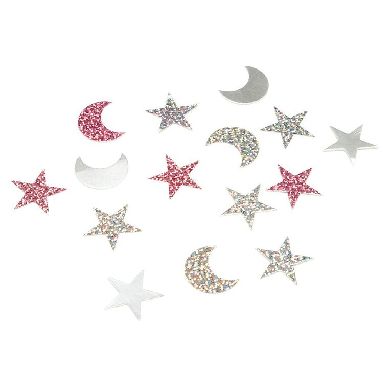 Party Inc Stars & Moon Party Confetti 34g, , hi-res