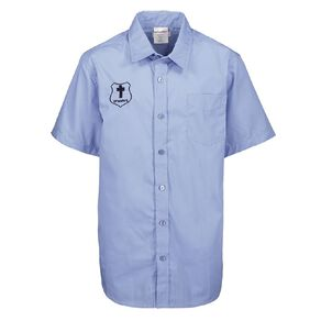 Schooltex St Mary's Hastings New Short Sleeve Shirt with Embroidery