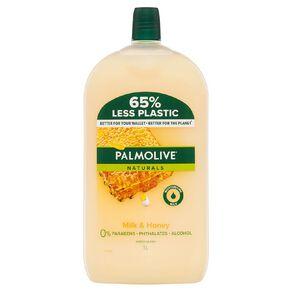 Palmolive Liquid Hand Wash Refill Milk & Honey 1L
