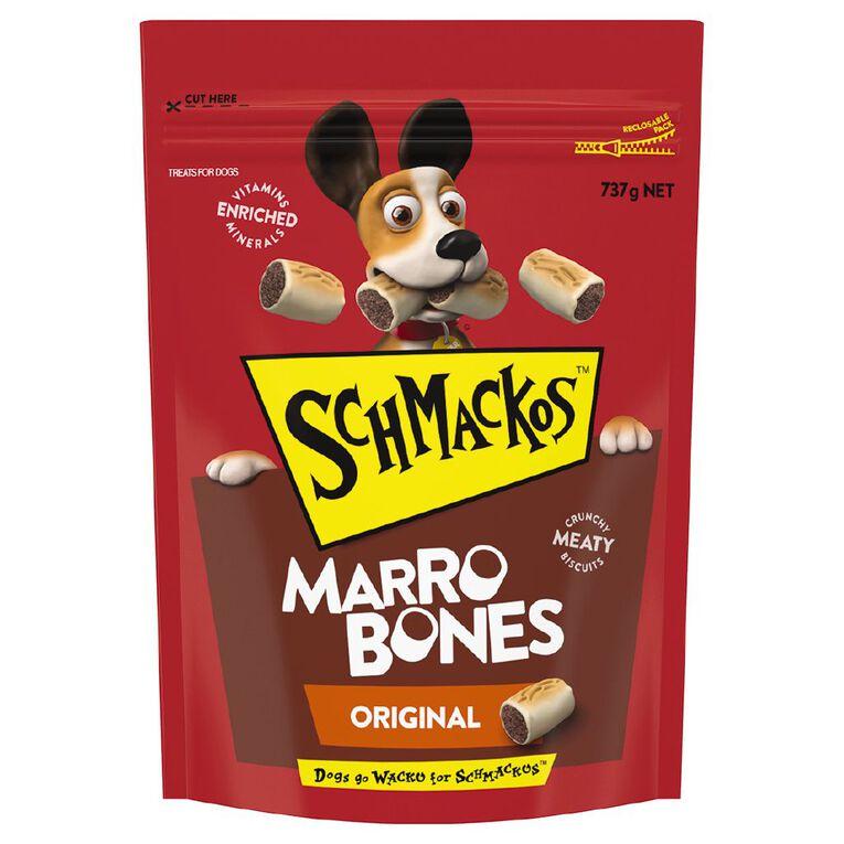 Schmackos Dog Treats Marrobones 737g, , hi-res