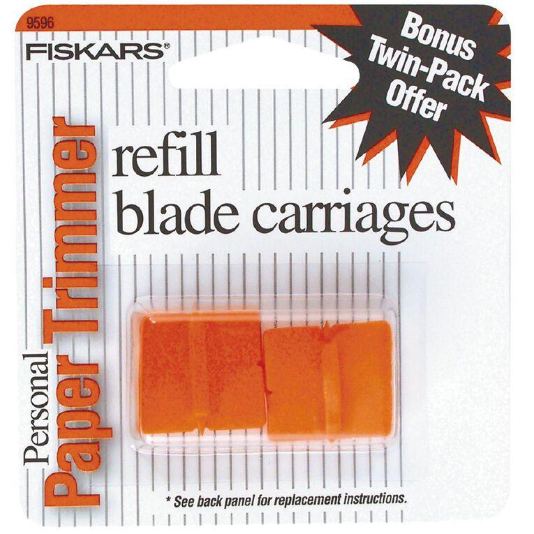 Fiskars Blades For Personal Trimmers 2 Pack Orange, , hi-res