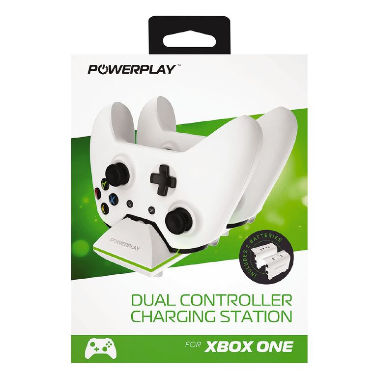 PowerPlay Xbox One Dual Charging Station White, , hi-res