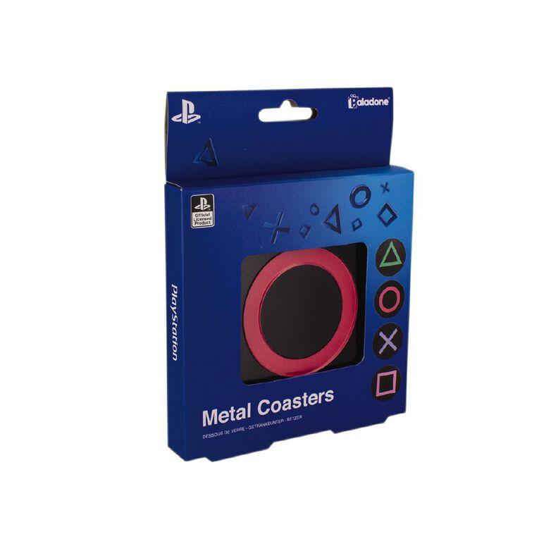 Paladone PlayStation Metal Coasters, , hi-res