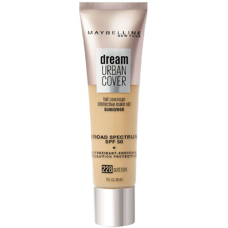 Maybelline Urban Cover Foundation 228 Soft Tan, , hi-res