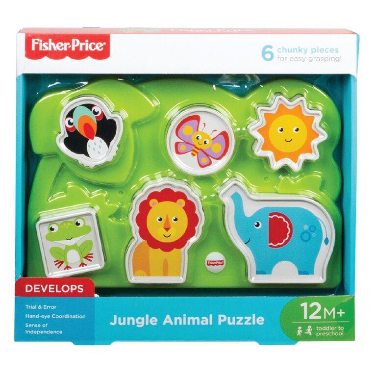 Fisher-Price Jungle Animal Puzzle, , hi-res