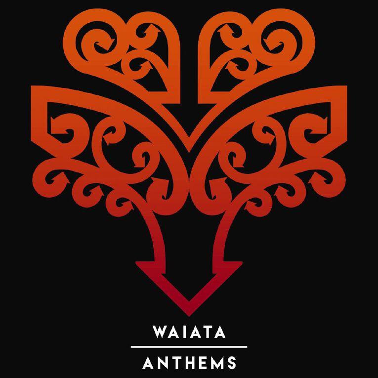 Waiata Anthems CD by Various Artists 1Disc, , hi-res