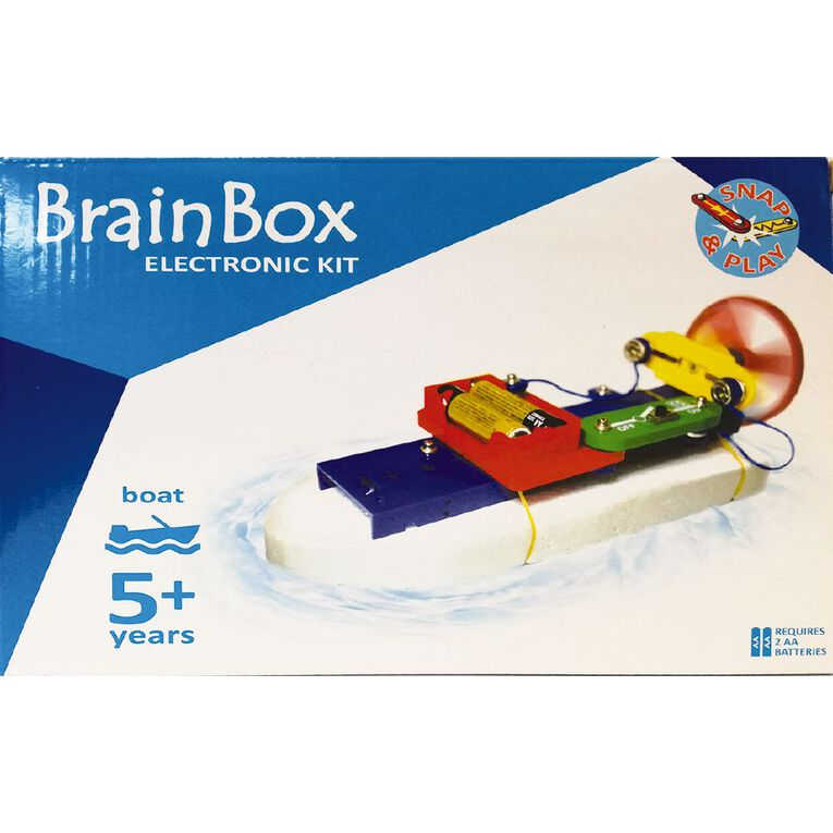 Brain Box Make Your Own Boat/Car Experiments Kits Assorted, , hi-res