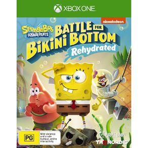 XboxOne Spongebob Battle For Bikini Bottom Rehydrated