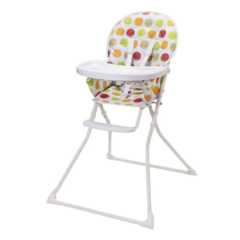 Babywise Flat Fold High Chair, , hi-res