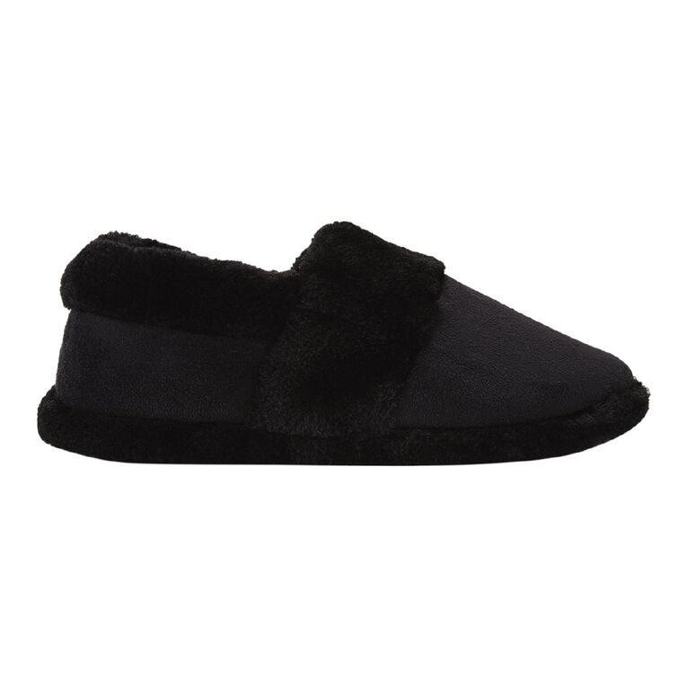 H&H Women's Joy Slippers, Black W21, hi-res