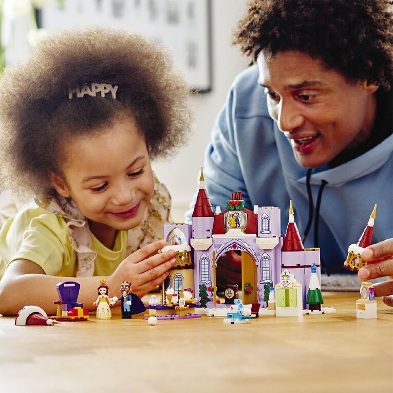 LEGO Disney Belles Castle Winter Celebration 43180, , hi-res