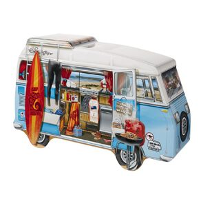 Connoisseurs Large Campervan Tin with Cream Biscuits