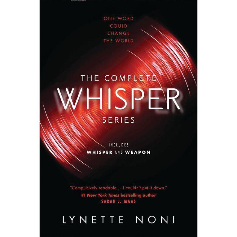 Whisper & Weapon Bindup by Lynette Noni N/A, , hi-res
