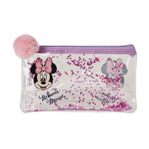 Minnie Mouse Sequin Cosmetic Bag