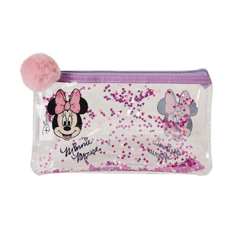 Minnie Mouse Sequin Cosmetic Bag, , hi-res